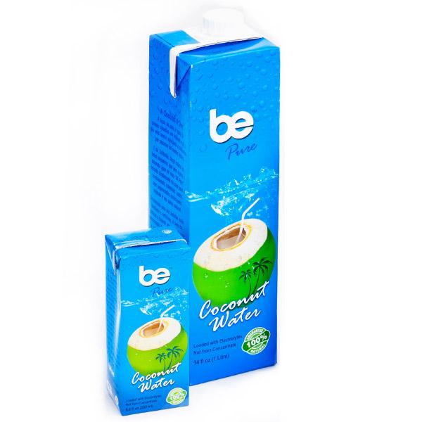 Кокосова вода, натурална, be pure