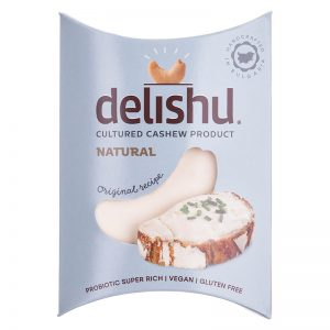 Delishu -Cultured cashew product, natural, organic
